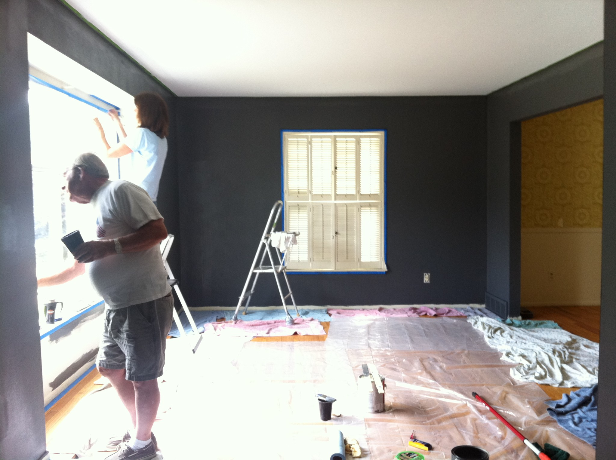 Painting Living Room _ This Nest Is Blessed
