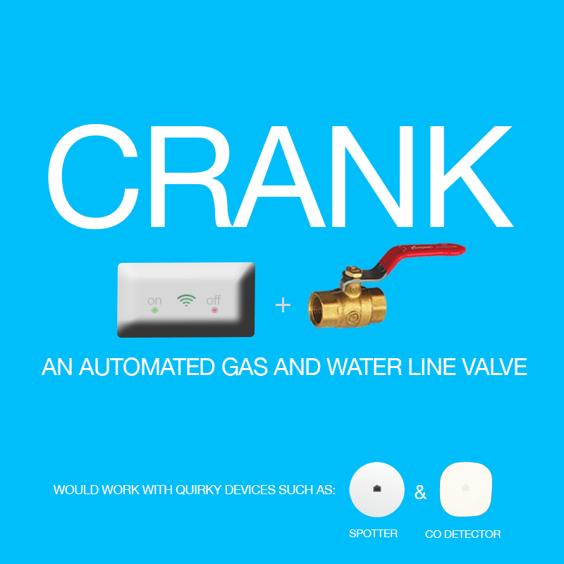 Automated Water and Gas Line Valve